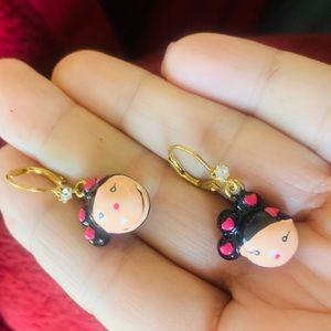 Harajuku earrings by Gwen stefani